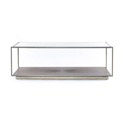 Abel Sunburst Rectangle Coffee Table