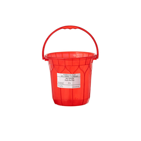 Plastic Red Pail