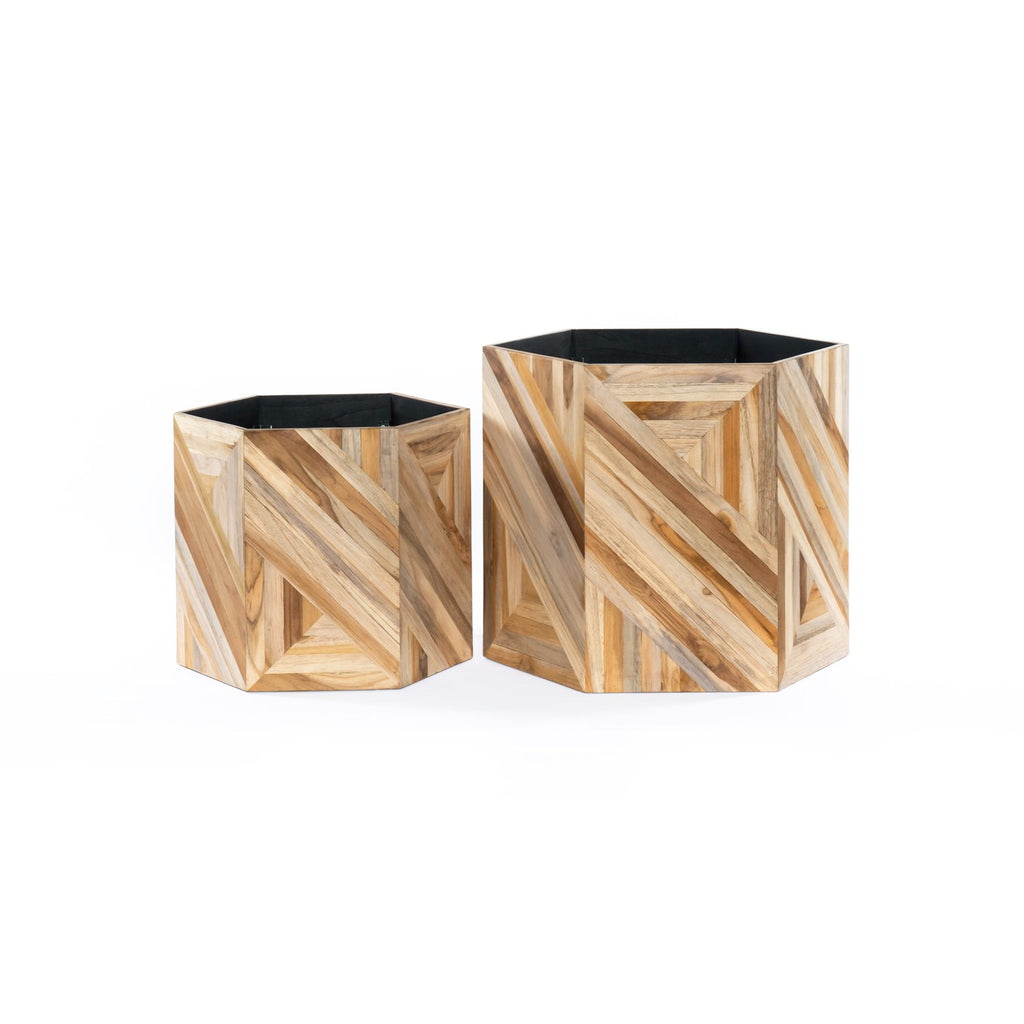 Oswell Planters, Set Of 2 by BD Studio