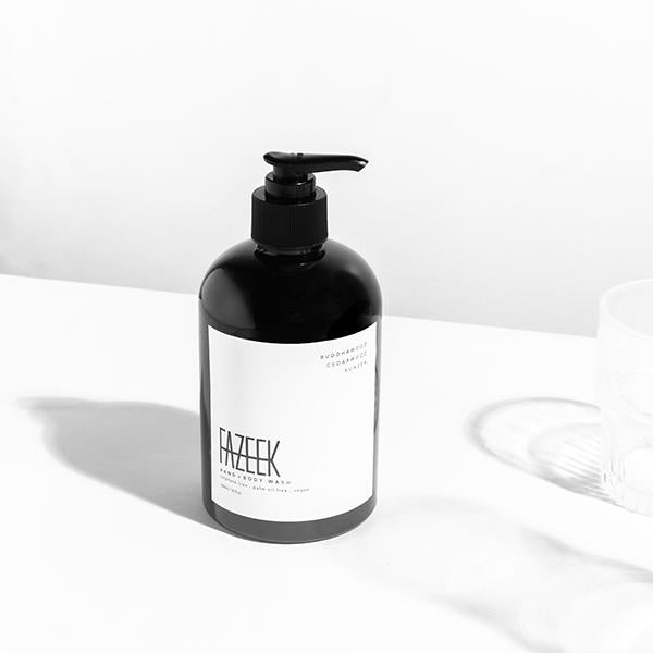 HAND + BODY WASH vetiver root + clove leaf + lavender