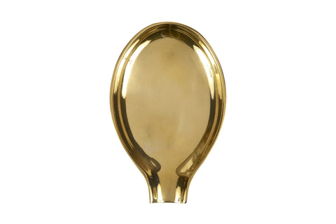 Spoon Rest in Solid Brass design by Sir/Madam