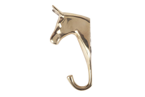 Solid Brass Horse Hook design by Sir/Madam