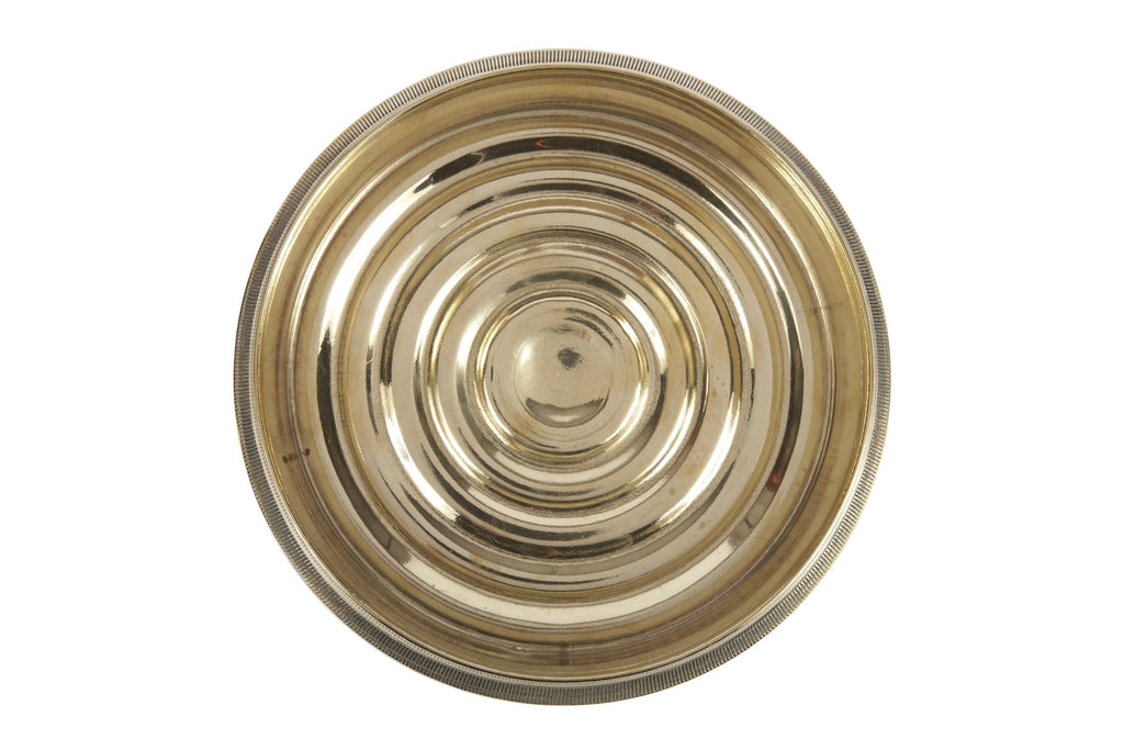 Coin-Edged Bottle Coaster in Solid Brass design by Sir/Madam