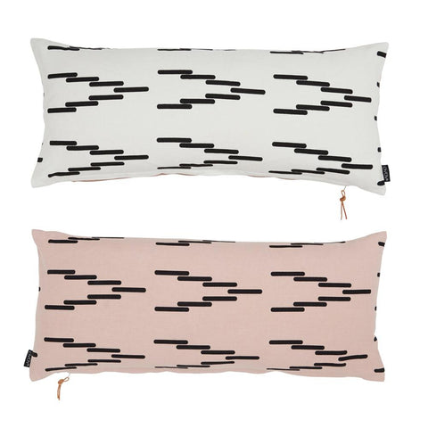 Cima Cushion - Rose / White