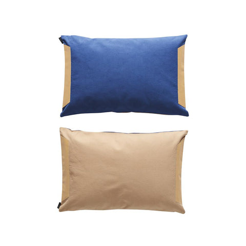 Deco Cushion - Dark Blue / Powder