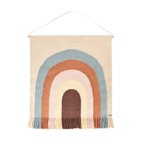 Follow The Rainbow Wall Rug - Multi