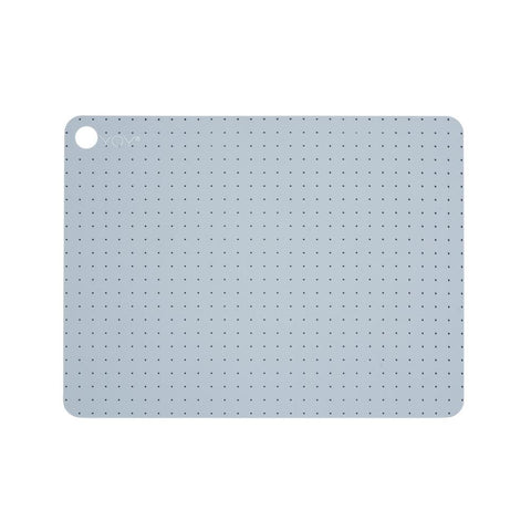 Placemat Grid Dot - 2 Pcs/Pack - Pale Blue