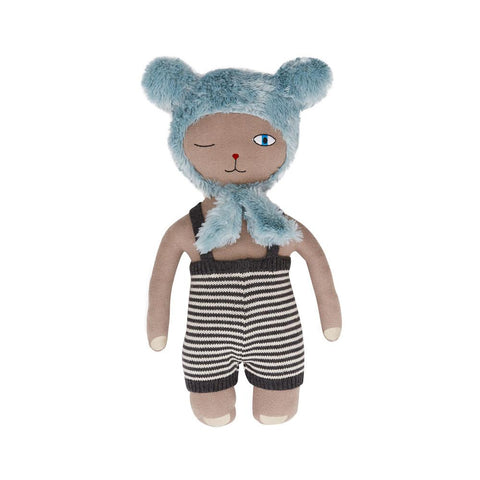 Topsi Bear Doll - Clay