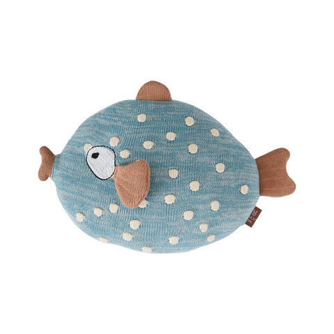 Little Finn Cushion - Blue