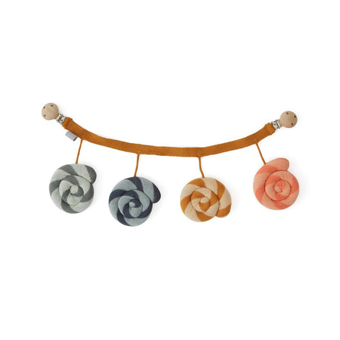 Lollipop Pram Chain Mobile - Multi
