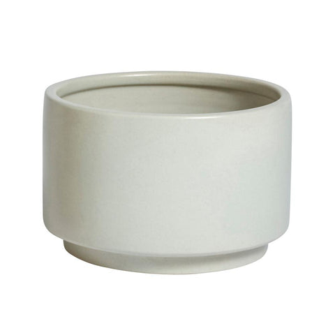 Large Kana Pot - White