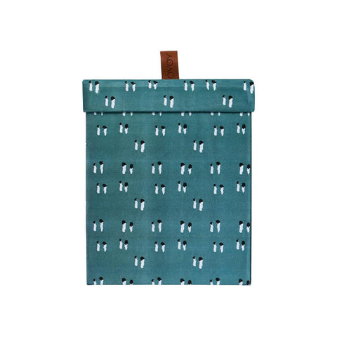 Storage Box - Square, Small - Petrol