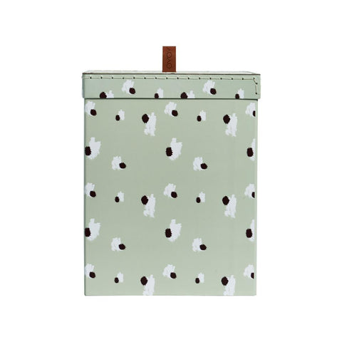 Storage Box - Square, Medium - Minty