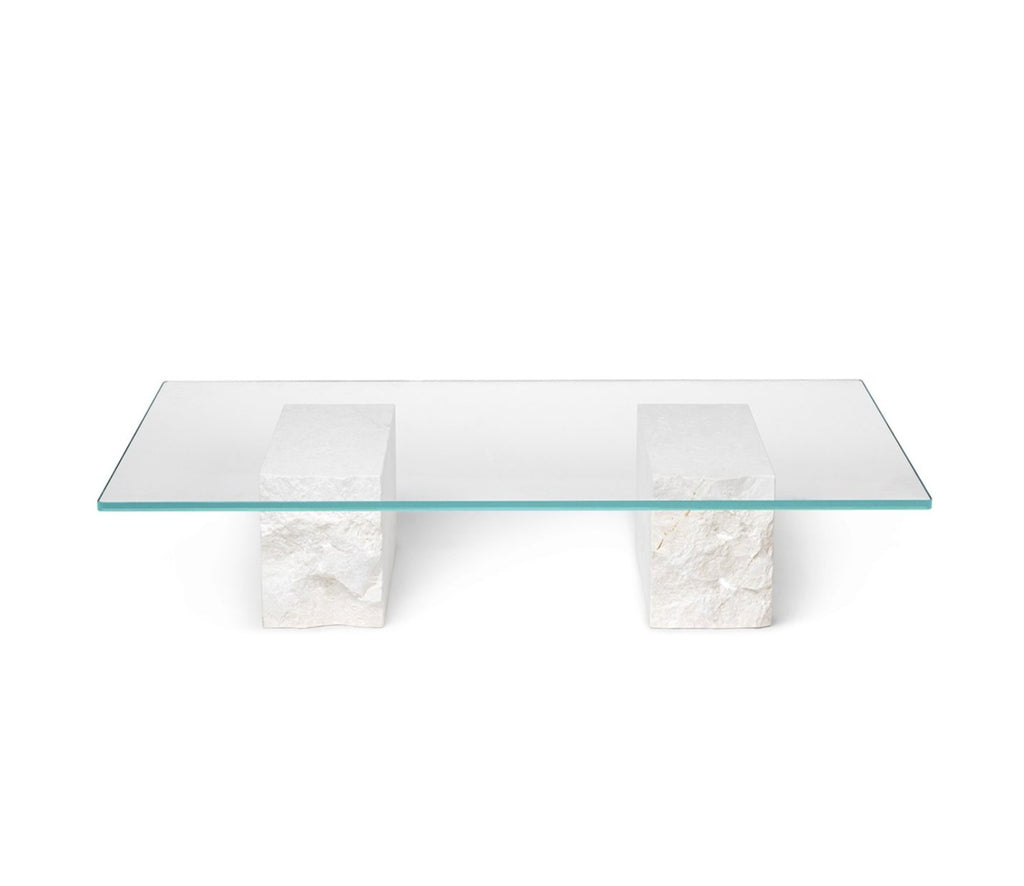 Mineral Coffee Table in Bianco Curia by Ferm Living