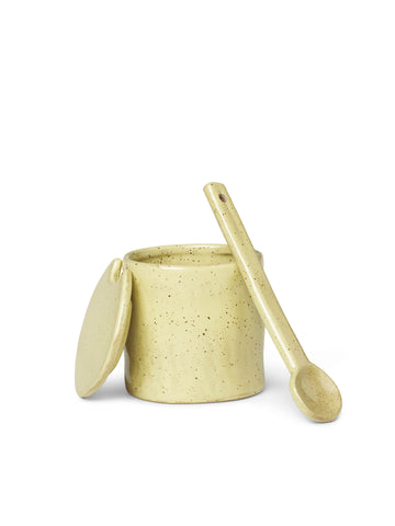 Flow Jar With Spoon by Ferm Living