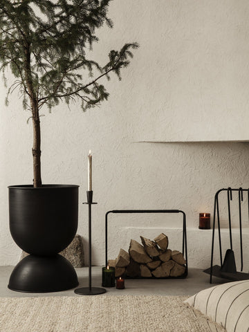 Port Wood Basket by Ferm Living by Ferm Living