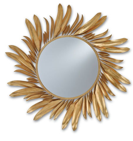 Folium Mirror design by Currey & Company