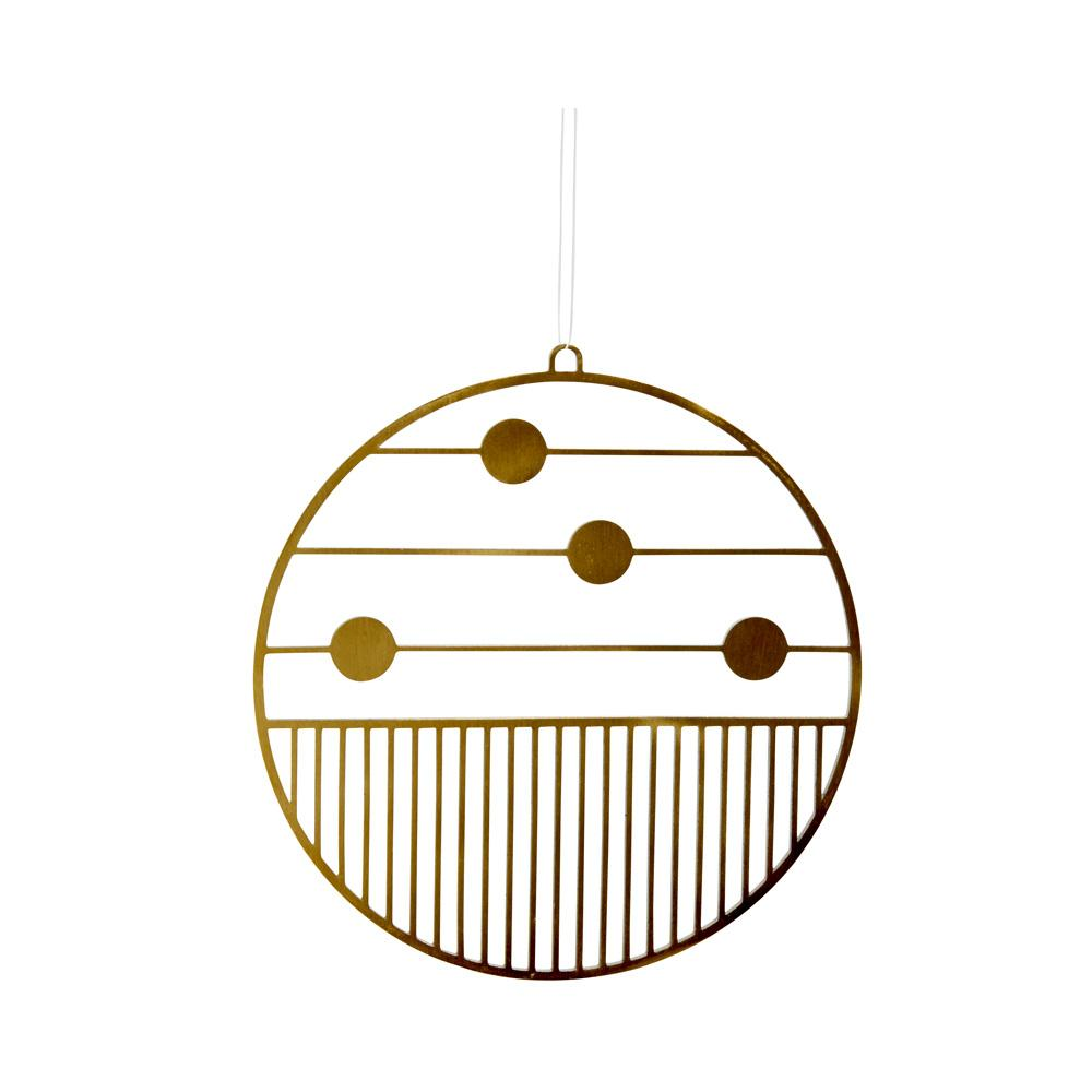 Joulu Ornament - Large - Brass