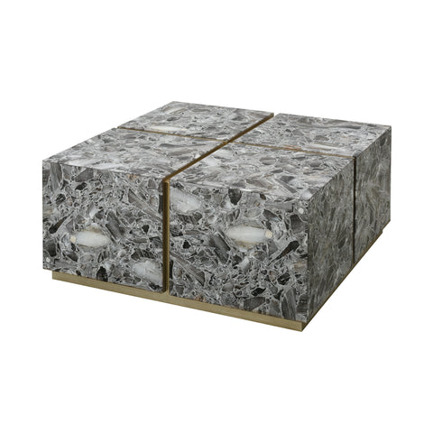 Crystalline Coffee Table - Square by Burke Decor Home