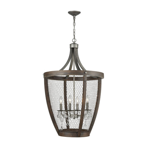 Renaissance Invention Long Basket Pendant design by Lazy Susan