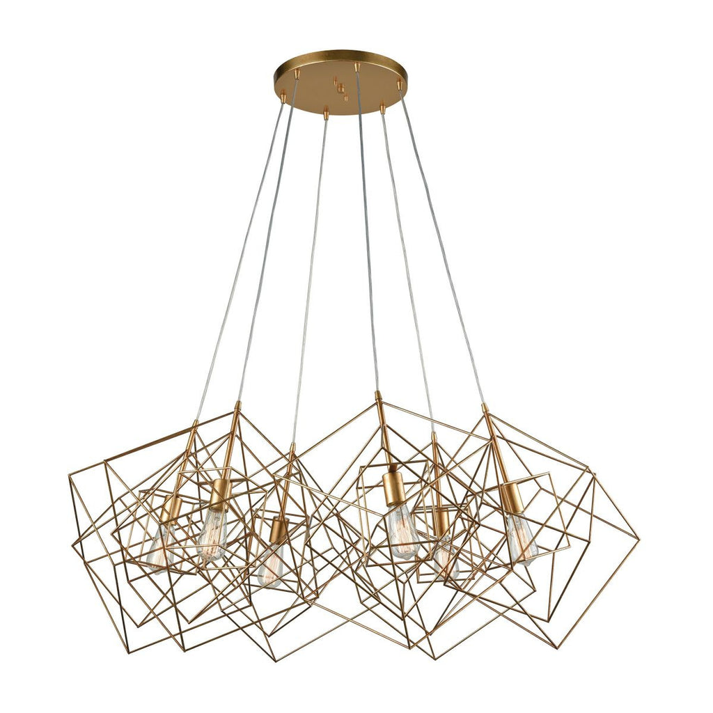 Box Pendant Cluster design by Lazy Susan