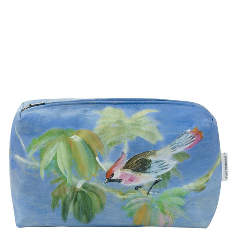 Giardino Segreto Cornflower Medium Toiletry Bag