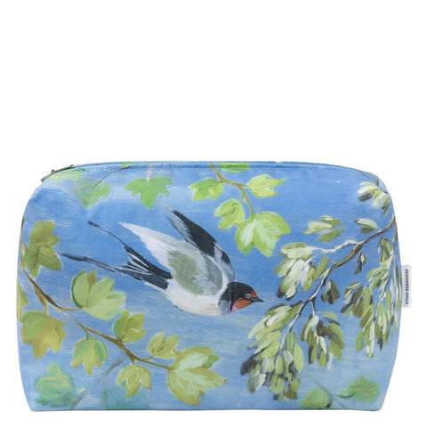 Giardino Segreto Cornflower Large Toiletry Bag