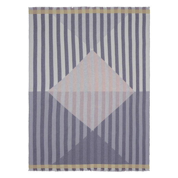 Arlecchino Dove Throw design by Designers Guild