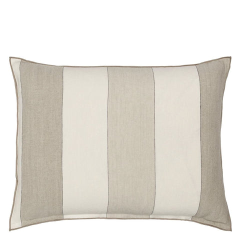 Brera Gessato Natural Decorative Pillow