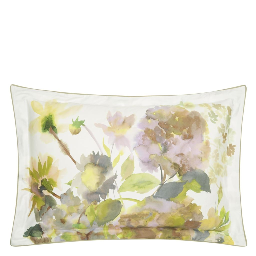 Palace Flower Birch Queen Sham