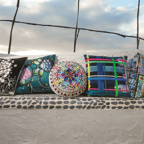Rosetta Multicolore Decorative Pillow design by Christian Lacroix