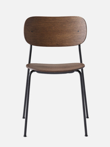 Co Chair Wood Seat in multiple colors by Menu