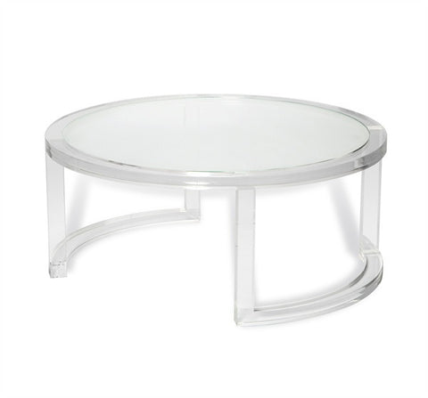 Ava Round Cocktail Table design by Interlude Home