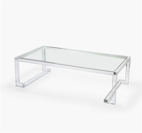 Ava Large Rectangular Cocktail Table design by Interlude Home
