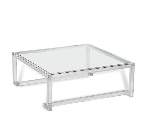 Ava Large Square Cocktail Table