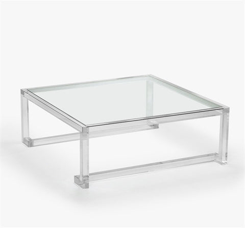 Ava Large Square Cocktail Table design by Interlude Home