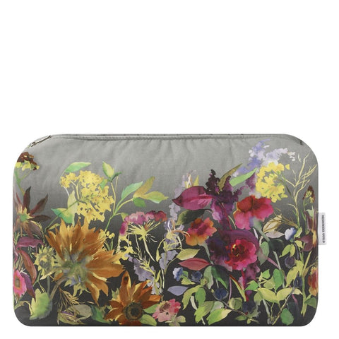 Indian Sunflower Graphite Large Toiletry Bag