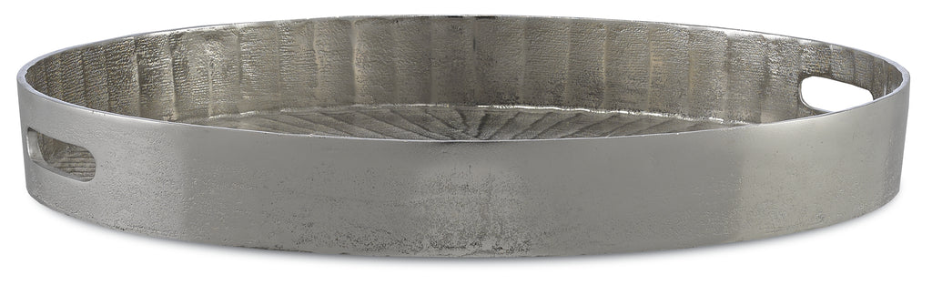 Luca Silver Large Tray