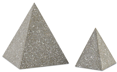 Abalone Small Concrete Pyramid
