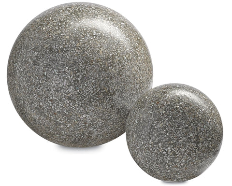 Abalone Concrete Ball design by Currey & Company
