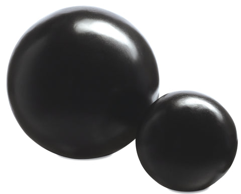 Black Large Concrete Ball design by Currey & Company
