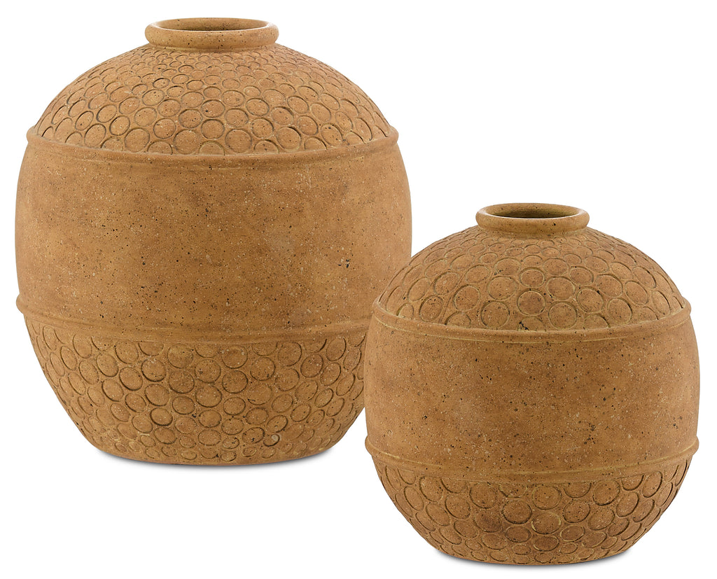 Lubao Vase in Various Sizes by Currey & Company