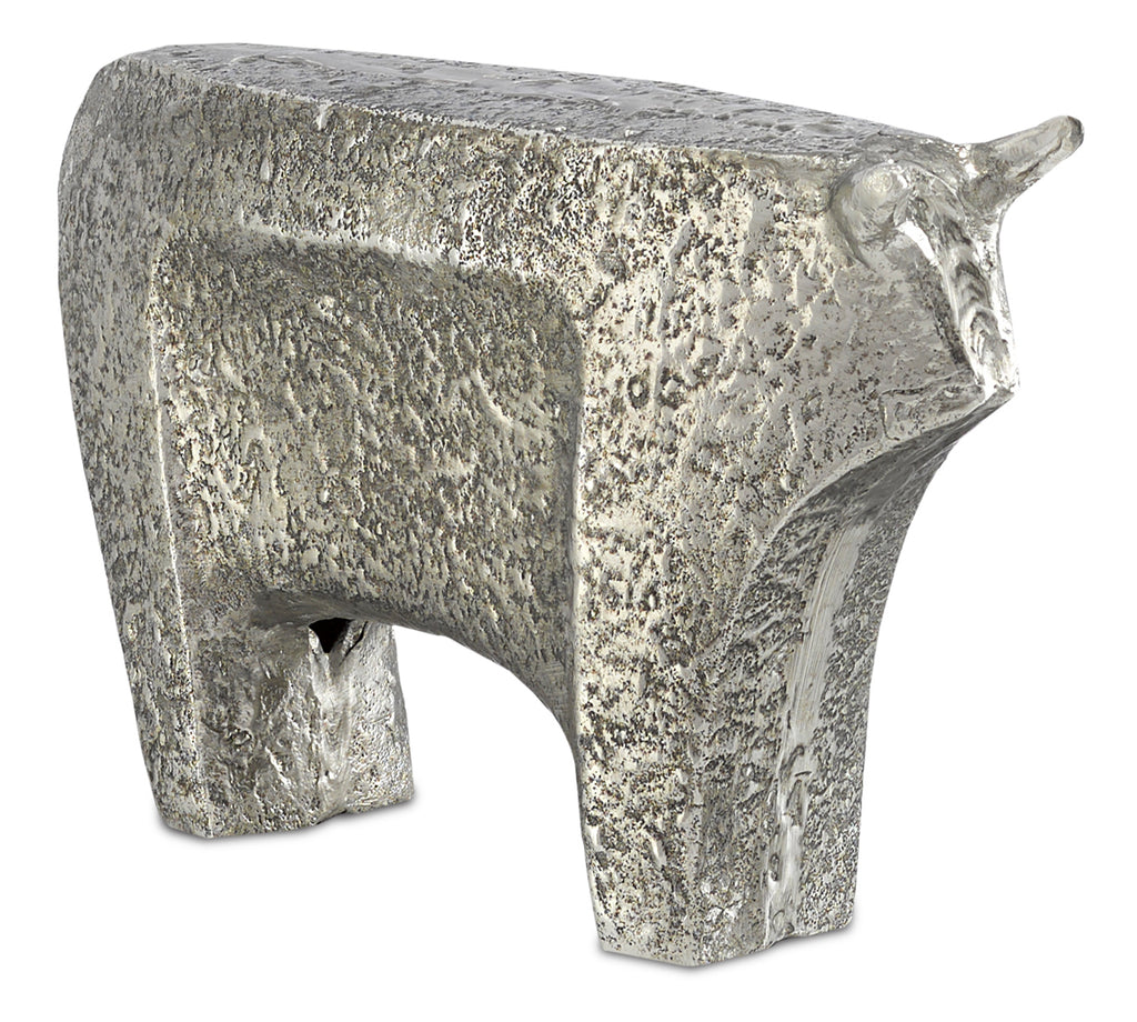 Sampson Bull in Various Finishes & Sizes by Currey & Company