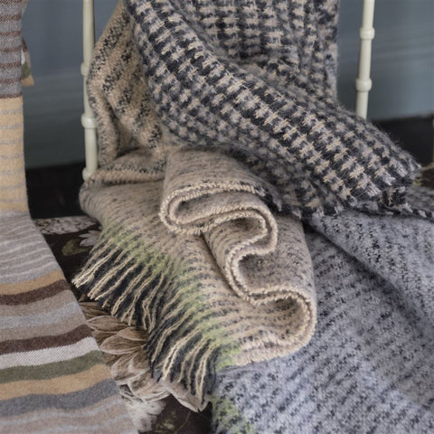 Katan Espresso Throw by Designers Guild