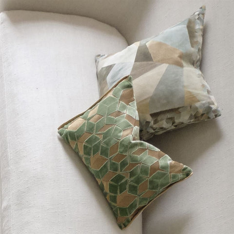 Fitzrovia Antique Jade Decorative Pillow by Designers Guild