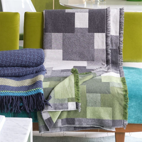 Cavendish Graphite Throw by Designers Guild