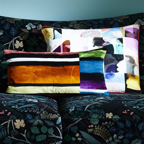 Lovely Escape Multicolore Decorative Pillow design by Christian Lacroix
