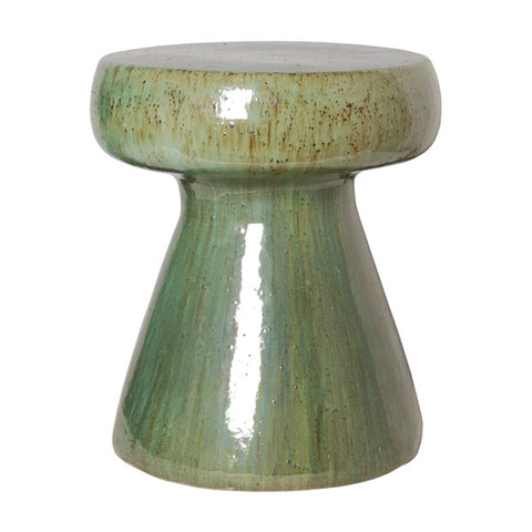 Mushroom Stool in Lime Green design by Emissary