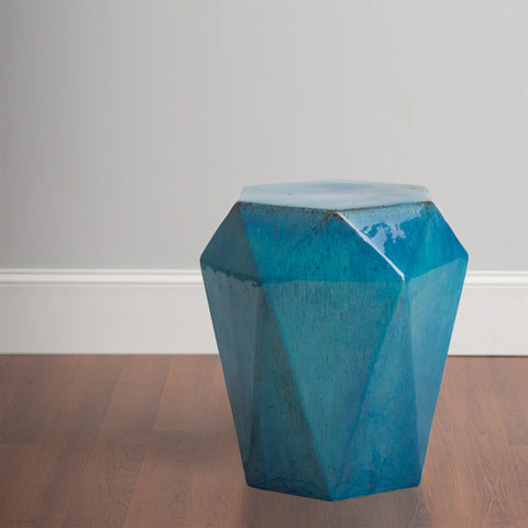 Hex Facet Garden Stool/Table