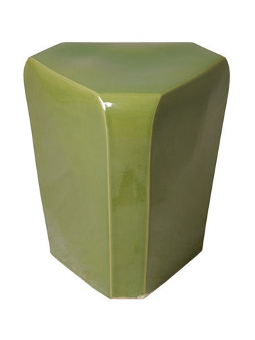 Triangle Stool in Celery Green design by Emissary